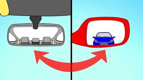 Bạn đã biết cách chỉnh gương chiếu hậu đúng cách?
